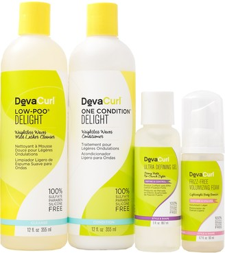 DevaCurl Share the Wavy Love Cleanser, Conditioner & Styler Kit for Wavy Hair