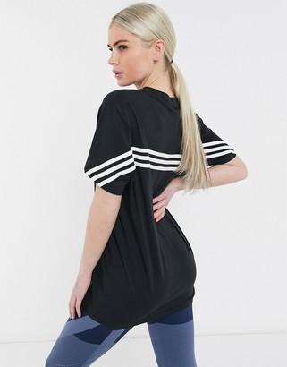 adidas Training t-shirt in black