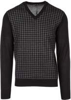 Michael Kors men's v neck jumper sweater pullover US size CF56JM3BB6