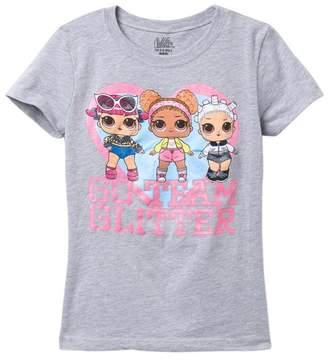 Freeze L.O.L Surprise! Go Team Glitter T-Shirt (Little Girls)
