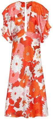 Dodo Bar Or Floral silk jacquard dress