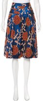 Robert Rodriguez Jacquard Knee-Length Skirt