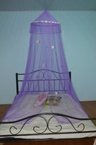 Brand New Bed Canopy Purple Color - Crib Twin
