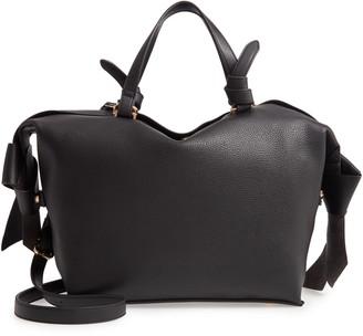 Sondra Roberts Faux Leather Satchel