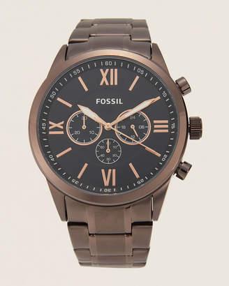 Fossil BQ2377 Flynn Brown-Tone Chronograph Watch