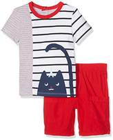 Catimini Baby Boys' CJ37191 Baby Set- 2 pieces,(Manufacturer Size: 3 Months)