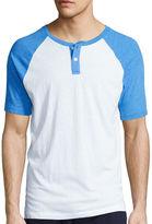 Arizona Short-Sleeve Raglan Henley T-Shirt