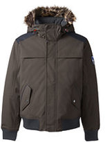 Lands' End Men's Tall Expedition Bomber Jacket-Driftwood