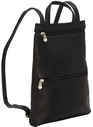 Le Donne Leather Slimpack Backpack - Tanya