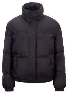HUGO BOSS Water-repellent down jacket with matte finish