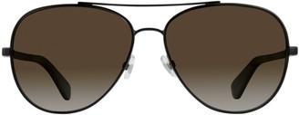 Kate Spade Avaline 58MM Polarized Aviator Sunglasses