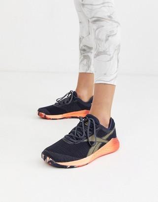 Reebok Crossfit nano sneakers in navy