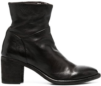 Officine Creative Slouch Ankle Boots