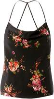 Exclusive for Intermix Floral Cowl Neck Tank