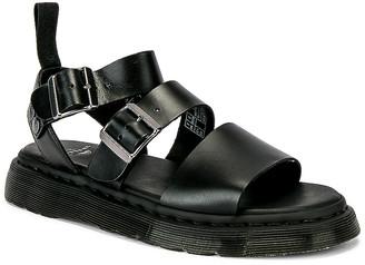 Dr. Martens Gryphon Sandal in Black | FWRD