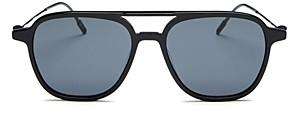 Montblanc Men's Brow Bar Aviator Sunglasses, 53mm