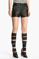 Alexander Wang Lightweight Leather Shorts
