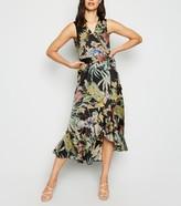 New Look AX Paris Tropical Midi Dress