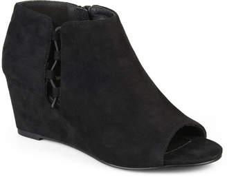 Journee Collection Womens Falon Booties Wedge Heel