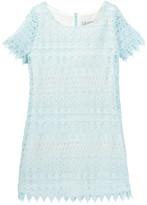 Blush by Us Angels Crochet Lace Shift Dress (Big Girls)