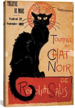 iCanvas 'Tournee du Chat Noir' Giclee Print Canvas Art