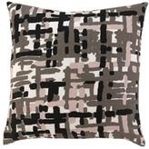 Painted Tweed Blush Throw Pillow