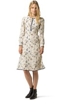 Tommy Hilfiger Collection Silk Printed Dress