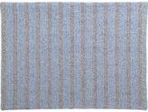 CB2 Weave Black-Blue Placemat
