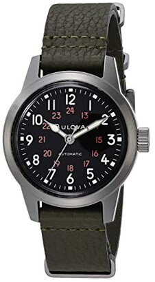 Bulova Archive Series: Military - 98A255 (Black) Watches