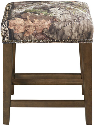 Linon The Mossy Oak Nativ Living Backless Bar Stool