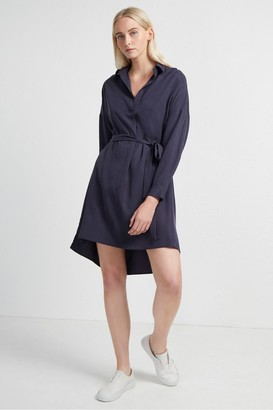 French Connection Rhodes Popover Shirt Dress