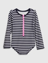 Gap Toddler Stripe Rash Guard Swim One-Piece
