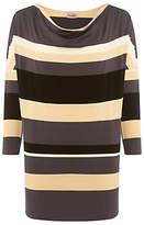 Phase Eight Skye Stripe Tunic Top, Multi