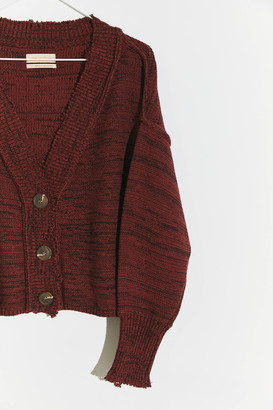 Urban Outfitters Lilianna Distressed Cardigan