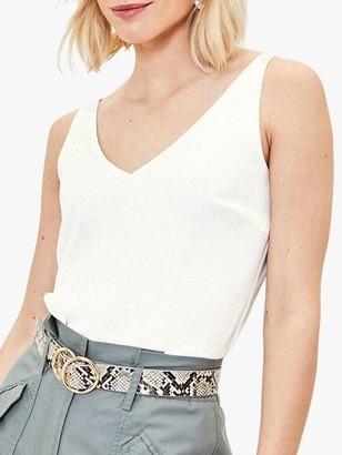 Oasis Formal Vest Top, White