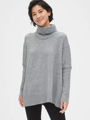 Gap Turtleneck Poncho Sweater