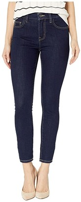 Current/Elliott High Waist Stiletto in 0 Clean Stretch Indigo (Clean Stretch Indigo) Women's Jeans