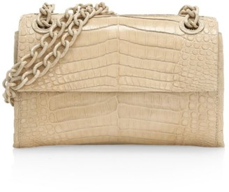 Nancy Gonzalez Mini Madison Crocodile Shoulder Bag