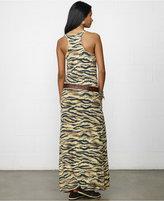 Denim & Supply Ralph Lauren Animal-Print Maxi Tank Dress
