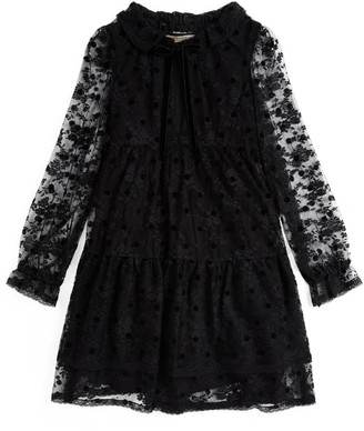 Ermanno Scervino Floral Lace Dress (6-16 Years)