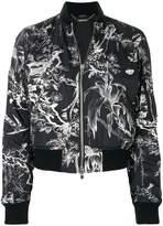 Alexander McQueen Bird Sketch bomber jacket