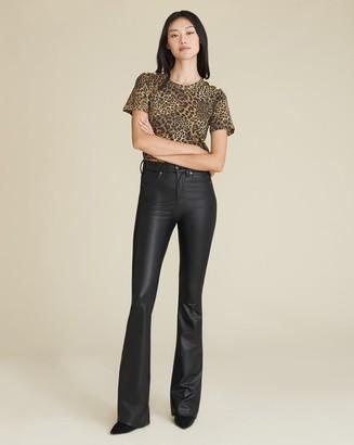 Veronica Beard Beverly Vegan Leather Jean