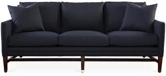 """Michael Thomas Collection Arden 82"""" Sofa - Navy Crypton"""