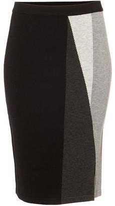 Phase Eight Megan Colour Block Knit Skirt