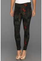 Hue Blur Print Jeans Legging (Army) - Apparel