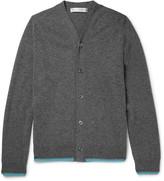 Comme Des Garçons Shirt - Contrast-trimmed Wool Cardigan