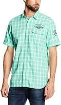 S'Oliver Men's Kariert Leisure Shirt