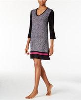 DKNY Colorblocked Knit Sleepshirt