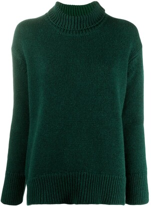 Plan C Relaxed Roll-Neck Jumper