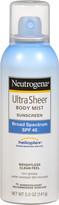 Neutrogena Ultra Sheer SPF 45 Aerosol Sunblock